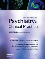 International Journal of Psychiatry in Clinical Practice