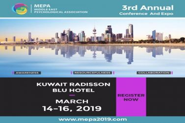 MEPA middle east psychological Association  3rd Annual Conference and Expo