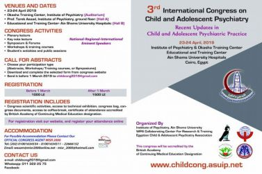 international congress on child and adolescent psychiatry