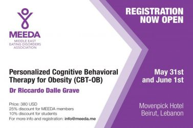 personalized cognitive Behavioral therapy for obesity